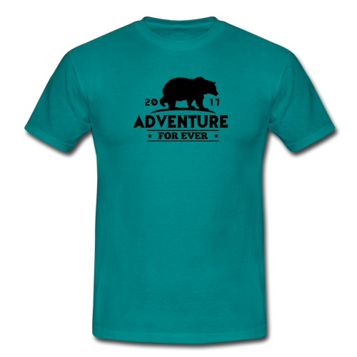ADVENTURE FOR EVER - GRIZZLY - Maglietta da uomo
