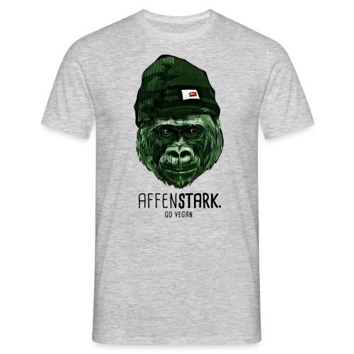 Gorilla Mütze affenstark - Männer T-Shirt