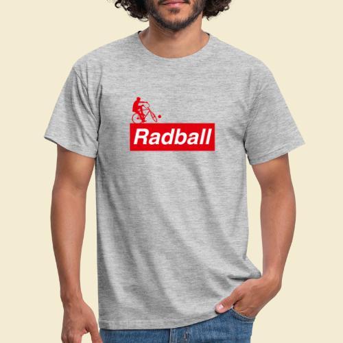 Radball | Red - Männer T-Shirt