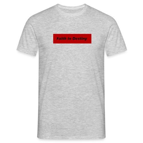 La fe en el destino - Camiseta hombre