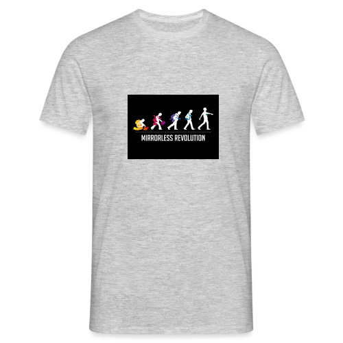 mirrorless evolution - Camiseta hombre