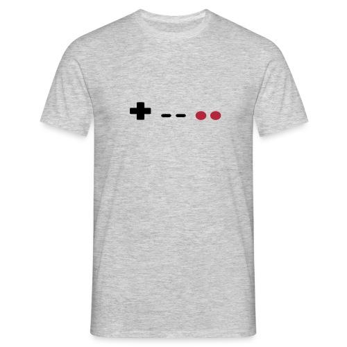 GAMER Controller RETRO - Männer T-Shirt