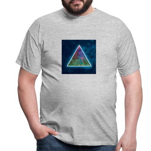 Galaxie triangle - T-shirt Homme