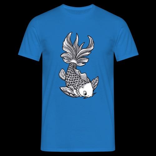 Pesce Tattoo Flash - Maglietta da uomo