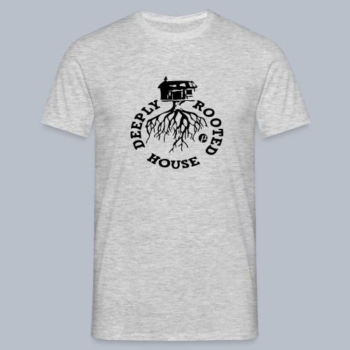 deeply rooted house - Men's T-Shirt
