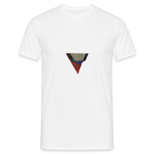 Flip Side Graphite Logo - Men's T-Shirt