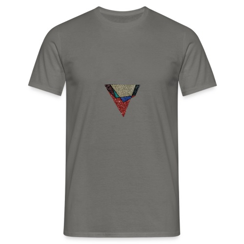 Flip Side Graphite Logo - Men's T-Shirt