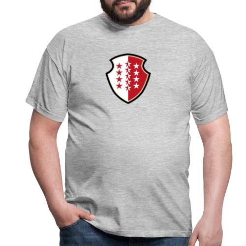 Bouclier Valaisan - Männer T-Shirt