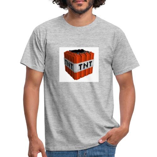 tnt block - Mannen T-shirt