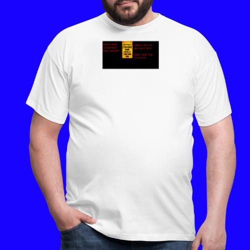 Zombie apokalypse by> - Männer T-Shirt