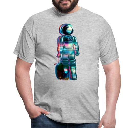 2020 VISION© MARS MISSION SPACE TRAVELLER© - Men's T-Shirt