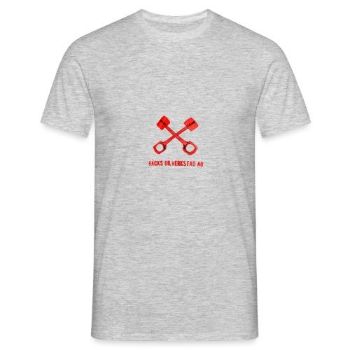 Bäcks bilverkstad - T-shirt herr