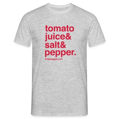 tomatojuice salt pepper - Männer T-Shirt