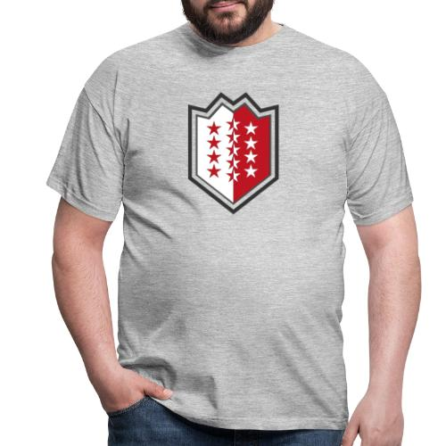 Bouclier moderne du Valais - Männer T-Shirt