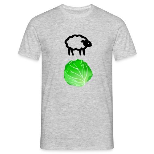 Fårikål - Sort - T-skjorte for menn