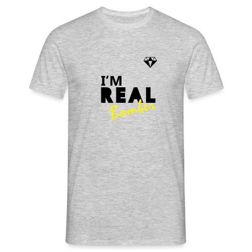 REAL Bomber - Maglietta da uomo