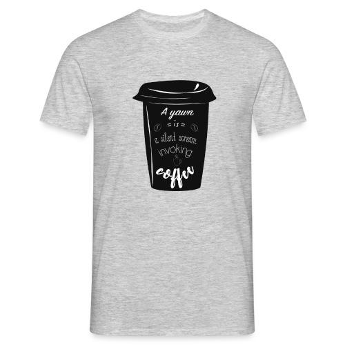 Coffee - Maglietta da uomo