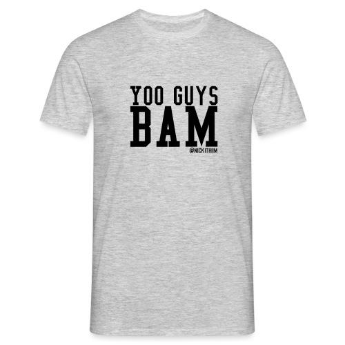 BAM! - Männer T-Shirt