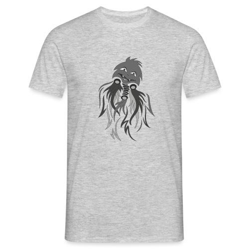 fantasma halloween grigio - Maglietta da uomo