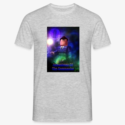 Adventures of the Commander 3 - Men's T-Shirt