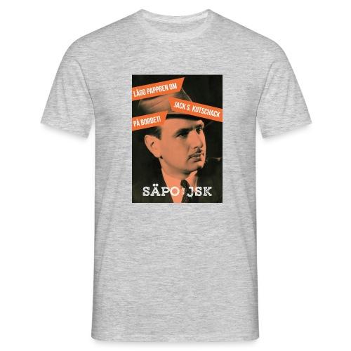 SÄPO mot Jack S. Kotschack - T-shirt herr