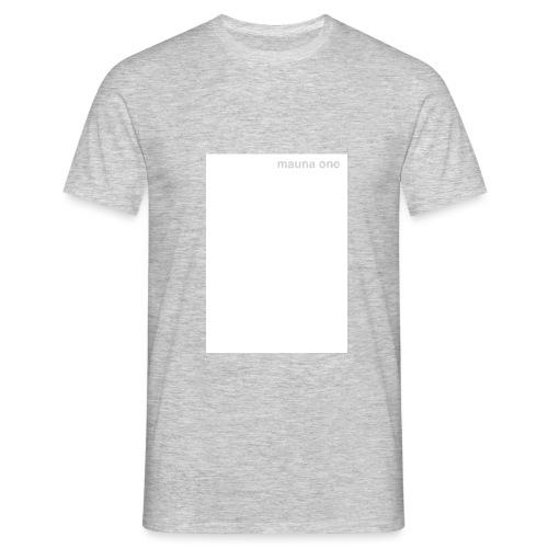 mauna one - Männer T-Shirt