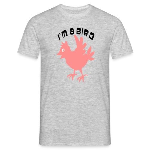 ik ben een vogel - Mannen T-shirt