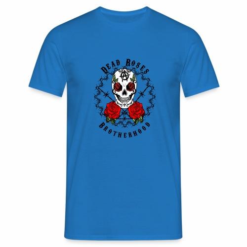 Dead Roses 2nd Logo - Men's T-Shirt