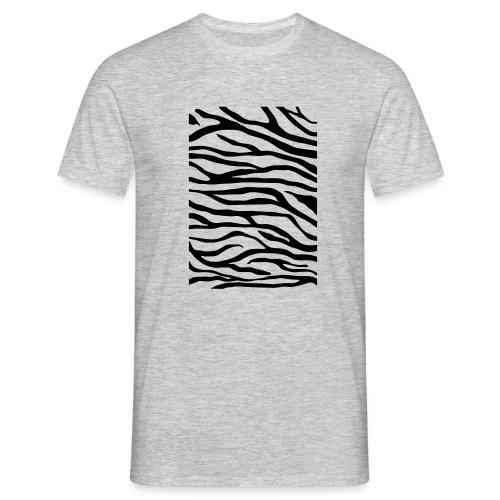 zebra v6 - Mannen T-shirt