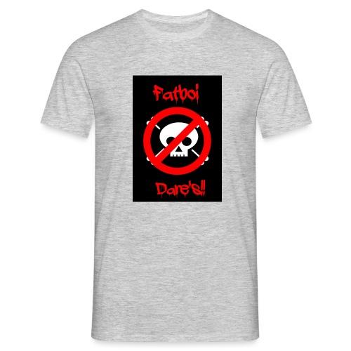 Fatboi Dares's logo - Men's T-Shirt