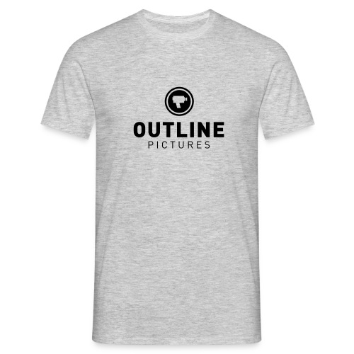 outline logo - Männer T-Shirt