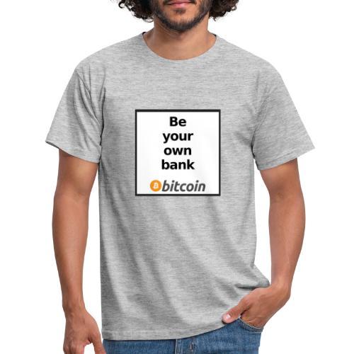 Bitcoin - Maglietta da uomo