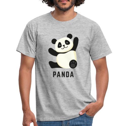 Schattige Panda - Mannen T-shirt