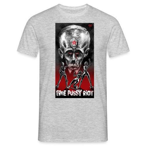 PutinSteffGross4 jpg - Männer T-Shirt