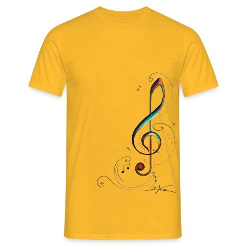 Clef de sol - T-shirt Homme