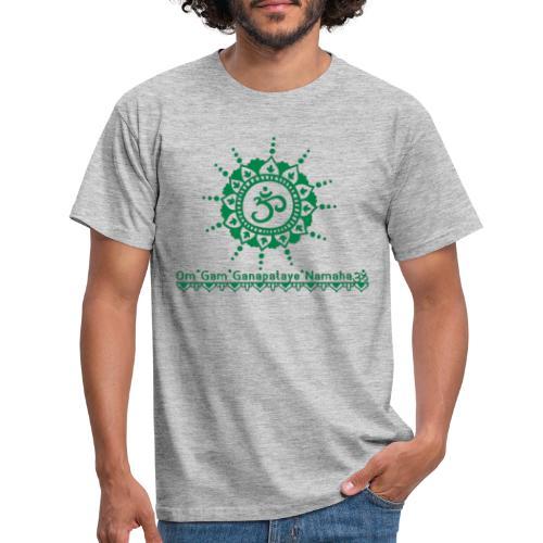 Ganesha Mantra OM Symbol Yoga Tshirt Hoodie - Männer T-Shirt
