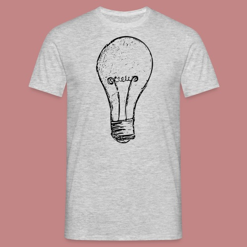 Lightbulby - Männer T-Shirt