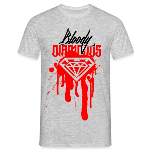 DMS Bloody Diamonds - Männer T-Shirt