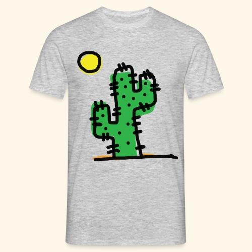 Cactus single - Maglietta da uomo