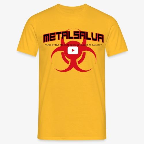 METALSALVA Cancer #1 - Maglietta da uomo