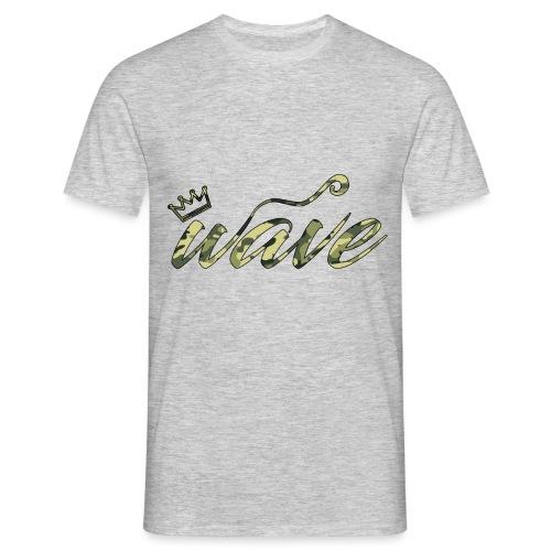 Camo Curvy Wave Clothing - Men's T-Shirt