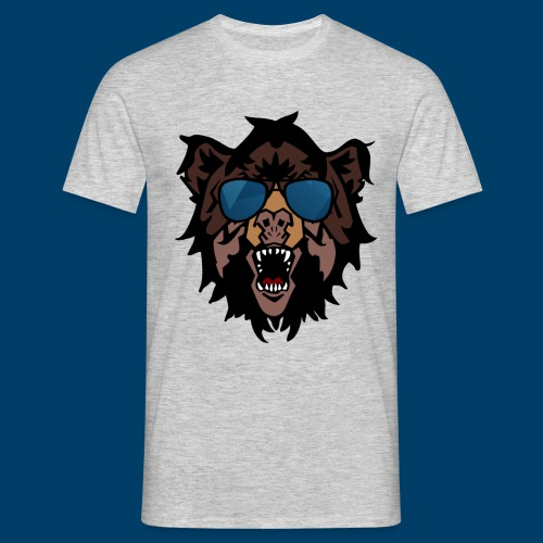 The Grizzly Beast - Men's T-Shirt