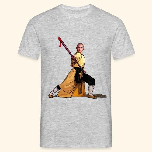 Shaolin Warrior Monk - Herre-T-shirt