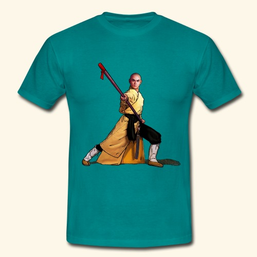Shaolin Warrior Monk - Herre-T-shirt