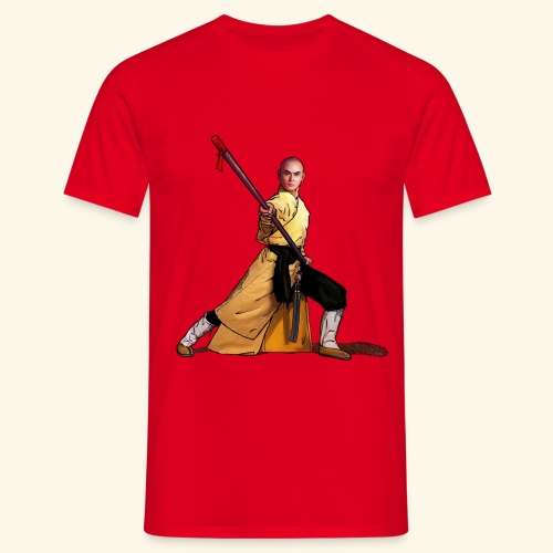 Shaolin Warrior Monk - Mannen T-shirt