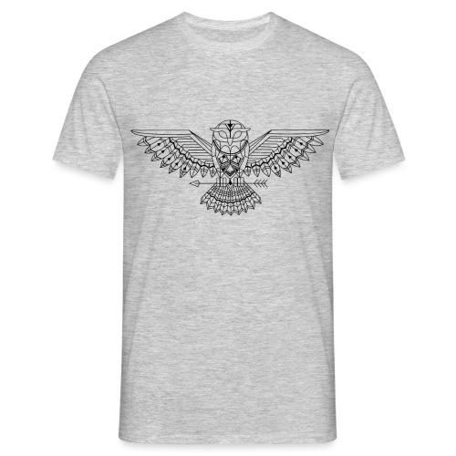 Grafische uil - Mannen T-shirt