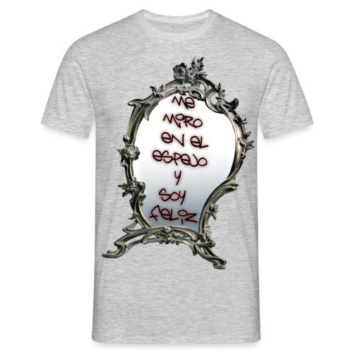 ME MIRO EN EL ESPEJO.... - Camiseta hombre