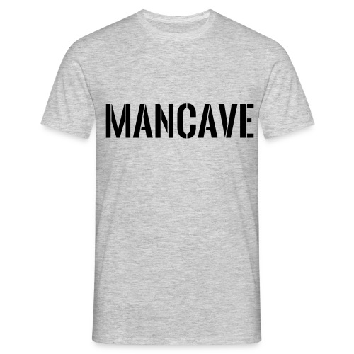 Man Cave Stencil - T-shirt herr
