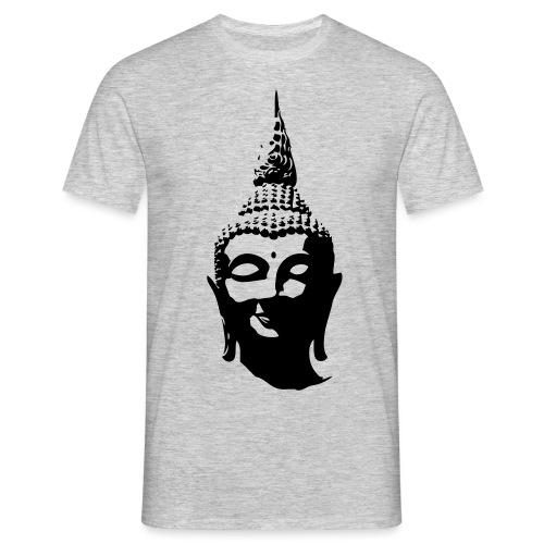 Boeddha hoofd - Mannen T-shirt