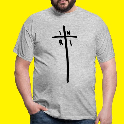 Cross - INRI (Jesus of Nazareth King of Jews) - Men's T-Shirt
